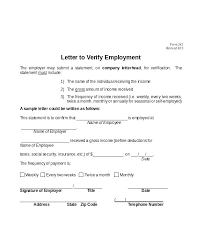 Letter Of Verification Of Employment Letter Proof Of Employment Whats More Picture Showed Above Is