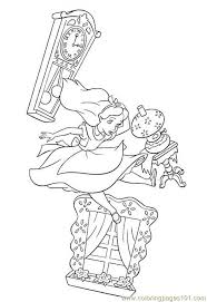 Small Picture Alice In Wonderland 1 Coloring Page Free Alice in Wonderland