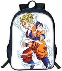 <b>Men's</b> Backpack <b>Cartoon Anime</b> Dragon Ball Series Sun Wukong ...