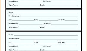 Printable Phone Directory Senetwork Co