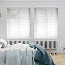 Bright White Wooden Blind Wooden Blind - 50mm Slat