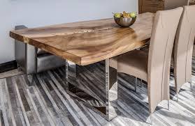 modern design goes natural one of a kind vintage table tops