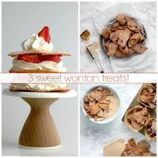 Wcww mixed sweet dessert wonton tray wat chu wan wonton, llc www.watchuwanwonton.com. Sweet Wonton Treats Sheri Silver Living A Well Tended Life At Any Age