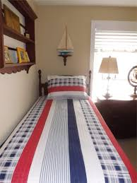 Attractive Patriotic Coastal Bedroom
