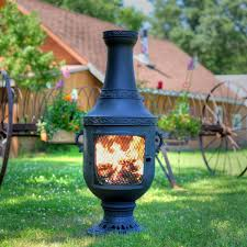 back to article special large clay chiminea outdoor fireplace