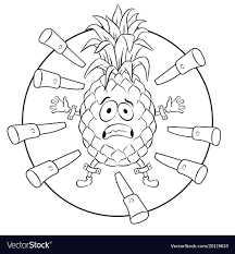 target coloring books. Plain Coloring Pineapple Target Coloring Book Vector Image For Target Coloring Books Y
