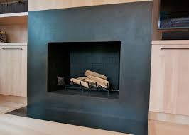 metal surround for fireplace