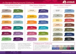 Chromas Jo Sonja Background Colors Color Chart In 2019