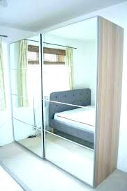 wardrobes wardrobe doors mirror closet mirrored sliding wardrobes white oak effect