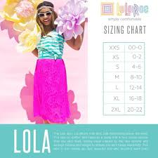 Lola Skirt Size Chart Lularoe Lola Skirt Sizing Chart Lularoe Lucy Sizing