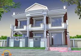 Modern House Pillar Designs Long Front Pillar Home Design Kerala Home Design And Floor