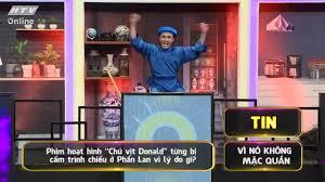HTV - Đài truyền hình TP.HCM - Vì sao bộ phim về chú vịt Donald lại bị cấm  chiếu ở Phần Lan?