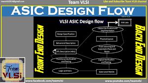 Y Chart In Vlsi Design Asic Design Flow Diagram Ppt