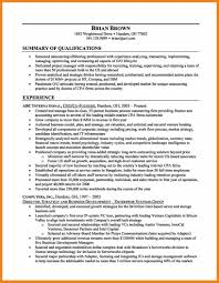 Resume Career Summary Teller Resume Sample