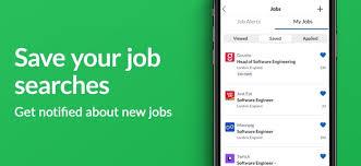glassdoor job search tools on the app