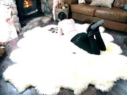real sheepskin blanket area rug sheep skin large faux rugs how to wash sh