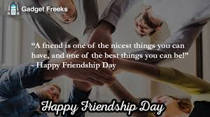 Inspirational Happy Friendship Day 2019 Quotes Sayings Slogans