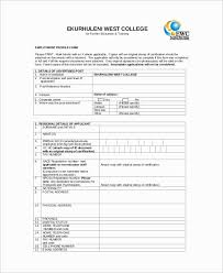 Employee Profile Sample Employee Profile Template One Checklist That You Should