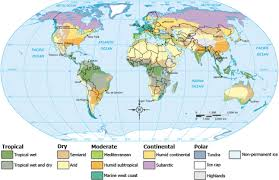 Plants Flowers The 12 Climate Regions