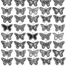 Butterfly Pattern New Butterfly Pattern Print Karin Åkesson