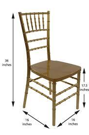 resin chiavari chair dimensions