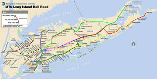 Long Island Railroad Route Of The Dashing Commuter