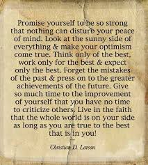 Promise Yourself To Be So Strong Quote Best of 24 Best Quotes Images On Pinterest The Words Truths And Remember This