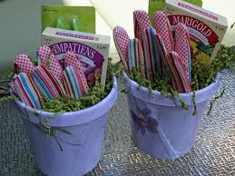 diy upcycle flower pots into gardening kit gifts