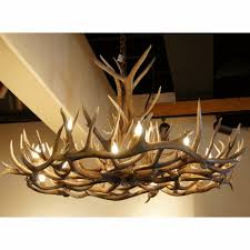 peak elk mule deer chandelier 18 lights custom