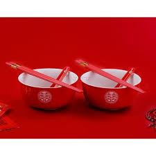 chinese red wedding set gaiwans bowls