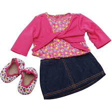 Baby Doll Clothes At Walmart Best Doll Clothes Accessories Walmart