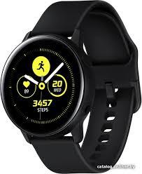 <b>Samsung Galaxy</b> Watch <b>Active</b> (черный сатин) <b>умные часы</b> купить ...