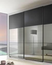 chic design mirrored closet door ideas features alluring wall sliding doors