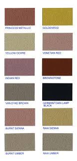 Rainbow Cement Color Chart