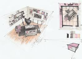 Sketchbook Pro Interior Design Interior Design Drawing With Markers My Video Courses Book