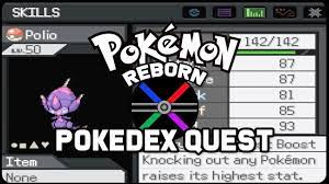 Pokemon Reborn Pokedex Quest - YouTube