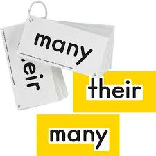 Ezread Dolch Second Grade Sight Word Flash Cards