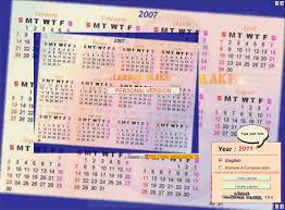 Calendar Creator For Windows 10 Download Asman Calendar Maker 2 0 0 1