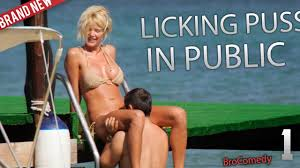 Licking Pussy in Public GONE SEXUAL Cute girl getting her.