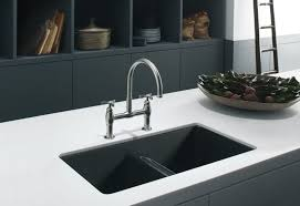 kitchens black stainless steel kitchen sink also double modern sinks and faucets undermount ideas picture dining