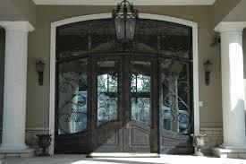 Amazing French Storm Doors Iron Front Door Frames Interior Styles - Iron exterior door
