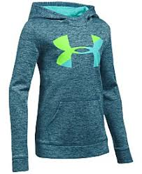 under armour shirts for girls. under armour armour® fleece pullover hoodie, big girls (7-16) shirts for
