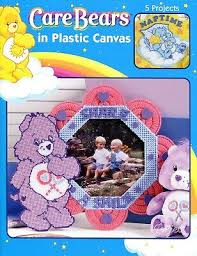 Care Bears In Plastic Canvas Chart Pattern Craft Book Cross