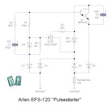 fluorescent lamps ballasts and fixtures one example is the arlen efs 120 pulsestarter