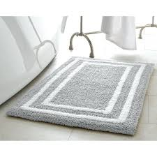 cotton bath rugs jean double border plush reversible cotton bath mat cotton bath rugs with latex