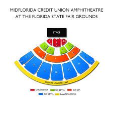 Midflorida Credit Union Amphitheatre Seating Chart With Seat Numbers Ozzy Osbourne Rescheduled From 6 2 2019 Tampa Tickets 5
