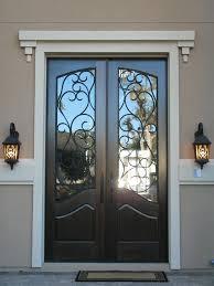 Fine Elegant Front Doors Black Entry Double Red Door With In Impressive Ideas