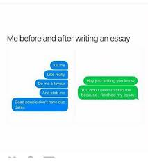 write me an essay co write