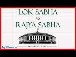 Flow Chart Of Parliament Of India Difference Between Lok Sabha And Rajya Sabha With