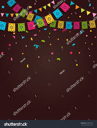 Background Decorations Design Mexican Fiesta Background Banner Poster Design Royalty